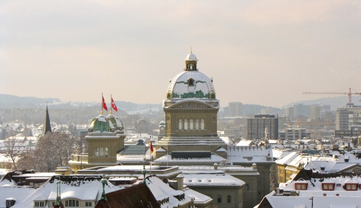 Winter Bundeshaus